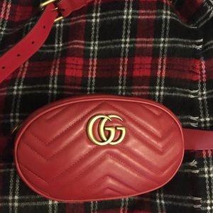 New Gucci Marmont Belt Bag 95